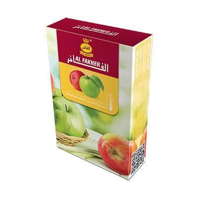 معسل الفاخر تفاحتين 250 غرام