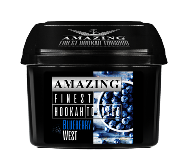 amazing tobacco 1 kg blueberry west