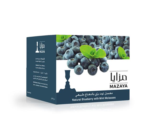 mazaya tobacco blueberry with mint