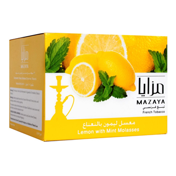 Mazaya tobacco lemon with Mint Flavor 1kg